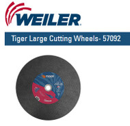 "Weiler Tiger Large Cutting Wheels  14"" x 3/32"" 57092  10/pk"