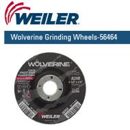 "Weiler Wolverine Grinding Wheels  4-1/2"" x 1/4""  25/pk  56464"