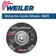"Weiler Wolverine Combo Wheels 7"" x 1/8""  10/pk  56425"