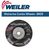 "Weiler Wolverine Combo Wheels 4-1/2"" x 1/8""  10/pk  56429"
