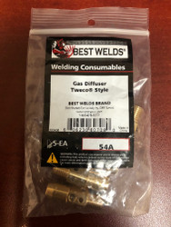 Tweco Style Gas Diffusers 54A by Best Welds - QTY/5
