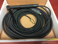 ESAB 17FV-20-2TL 150A TIG Torch 150amp, 20 ft, flexible head  0558101723