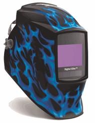Miller Genuine Digital Elite Blue Flame Welding Helmet - 269273