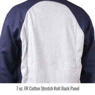 Revco Black Stallion JF1625-NG Stretch-Back FR Cotton Welding Jacket