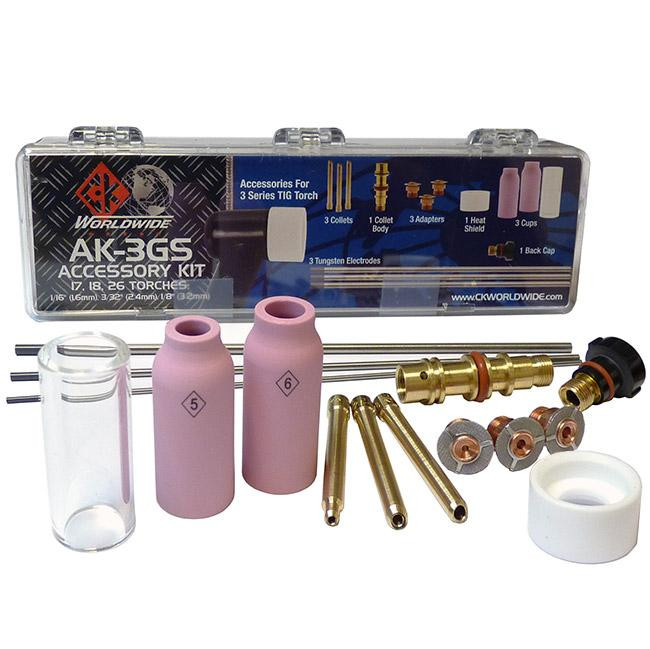Weldmark AK2 TIG torch Accessory Kit AK2 for 17 Series Torches
