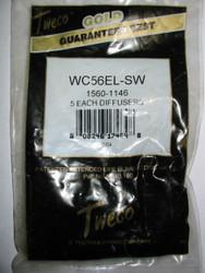 TWECO GAS DIFFUSERS  WC56EL-SW  - QTY/5