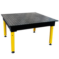 "Strong Hand BuildPro 4' x 4' x 36"" MAX Welding Table"