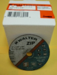 "WALTER CUT-OFF WHEELS 3""x1/16""x3/8"" -QTY/25- 11-L-313"