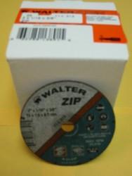 """WALTER CUT-OFF WHEELS 3""""x1/16""""x3/8"""" -QTY/25- 11-L-313"""