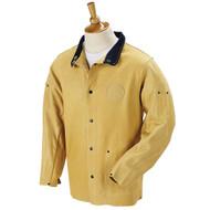 """DuraLite TAN Premium Grain Pigskin Weld Jacket 30PWC - 30"""""""