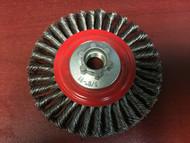 "Jaz 41052 Twisted Knot Wheel Standard Stringer Bead 4"" x  5/8""-11"