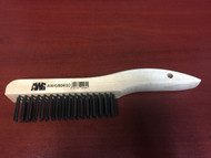 "Jaz 80410 Wood Hand Scratch Brush 4x16 10"" x 1-1/8"""