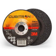 "3M 78467-Q  Cubitron II Depressed Center Grinding Wheel  qty-10  5"" x 1/4"" x 7/8"" T27"
