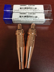 Oxy//Acetylene tip 3-101 series size 1 1-3-101 5 Victor style cutting tips
