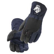 Revco Black Stallion GT7120-NB BSX® Grain Goatskin & Flame-Resistant Stretch Knit Cotton TIG Glove