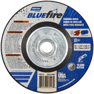 "BlueFire 4-1/2""x1/4""x5/8""-11 ZA ZA Type 27 Grinding Wheel box/10"