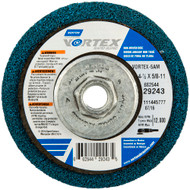Bear-Tex Vortex Rapid Blend AO Medium Grit Non-Woven Depressed Center Disc 10 pack