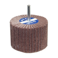 Merit AO Fine Grit Steel Shank Non-Woven Interleaf Flap Wheel 10 pack