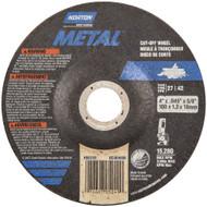 Norton 43604 Metal RightCut A AO Type 27/42 Cutting Wheel 25/bx