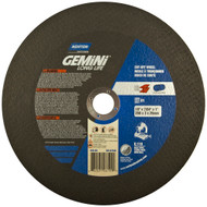 Norton 06627 Gemini A AO Type 01/41 Chop Saw Cut-Off Wheel 10/bx