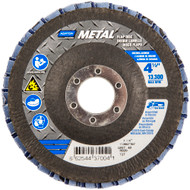 Norton 48989 Metal R828 ZA Coarse Grit Center Mount Fiberglass Flat Flap Disc 10/bx