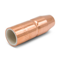 "Miller NS-M1200C AccuLock™ MDX™ Thread-On Nozzle, 1/2"" Orifice, Flush Tip, Copper (2 per pkg)"