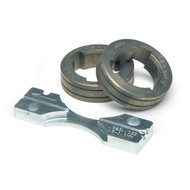 """Lincoln KP1697-035C Drive Roll Kit .030 - .035"""" (0.8 - 0.9 MM) Cored Wire"""
