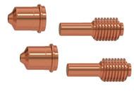 Hypertherm 428243 Dual Pack Electrode Nozzle Duramax LT 15-30 A Standard Cutting