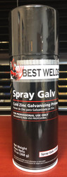 Best Welds Cold Zinc Galvanizing Primer - Spray Galv 13oz