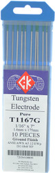 "Tungsten Electrodes 1/16"" x 7"" PURE by CKW"