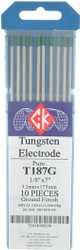 "Tungsten Electrodes 1/8"" x 7"" PURE by CKW"