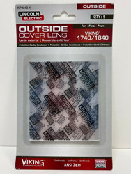 Lincoln Electric KP3043-1 Outside Cover Lens 5/pk
