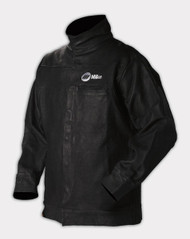 Miller Genuine Arc Armor Leather Welding Jacket - L, XL