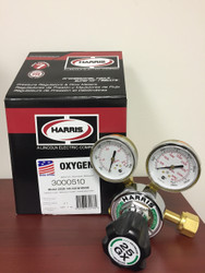 Harris Single Stage Oxygen Regulator w/knob  3000510  25GX-145-540