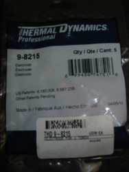 THERMAL DYNAMICS 9-8215 ELECTRODE - QTY 5