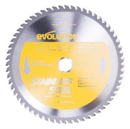 "EVOLUTION TCT 10"" STAINLESS STEEL-CUTTING SAW BLADE"