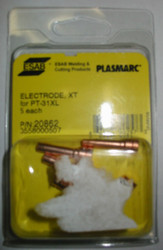 ESAB 20862 ELECTRODE 40A for PT-31XL PLASMA - QTY 5