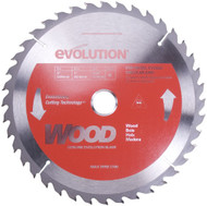 "EVOLUTION TCT 9"" WOOD-CUTTING SAW BLADE"