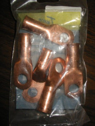 Tweco T-120 Cable Lugs 1 - 2/0 - pkg 5