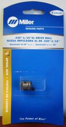 "Miller Genuine Drive Roll .030-1/16"" AL for Spoolmatic & XR Series - 136135"