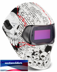 3M SPEEDGLAS 100V  VARIABLE WELDING HELMET - BONEYARD  07-0012-31BY