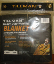TILLMAN 596B  6' x 6' HEAVY DUTY WELDING BLANKET