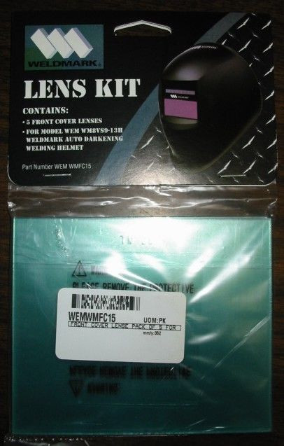 Weldmark Outside Lenses for Black, Red Flames & Blue Flames Welding Helmets