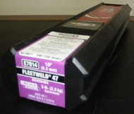 "LINCOLN FLEETWELD 47 E7014 1/8"" STICK ELECTRODE - 5LB"
