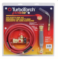 TURBOTORCH PROFESSIONAL AIR / ACETYLENE KIT - X-5B