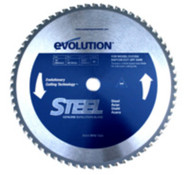 "EVOLUTION TCT 12"" STEEL-CUTTING SAW BLADE"