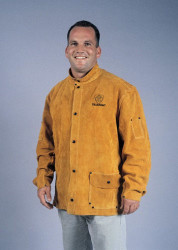 TILLMAN 3280 BOURBON BROWN COWHIDE WELDING JACKET