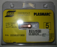 ESAB 0558001969 ELECTRODE for PT-32/32LHS - QTY 5