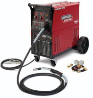 LINCOLN Power MIG 350MP Welder  (push model) K2403-2