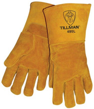 TILLMAN 495 TOP GRAIN PIGSKIN WELDING GLOVES